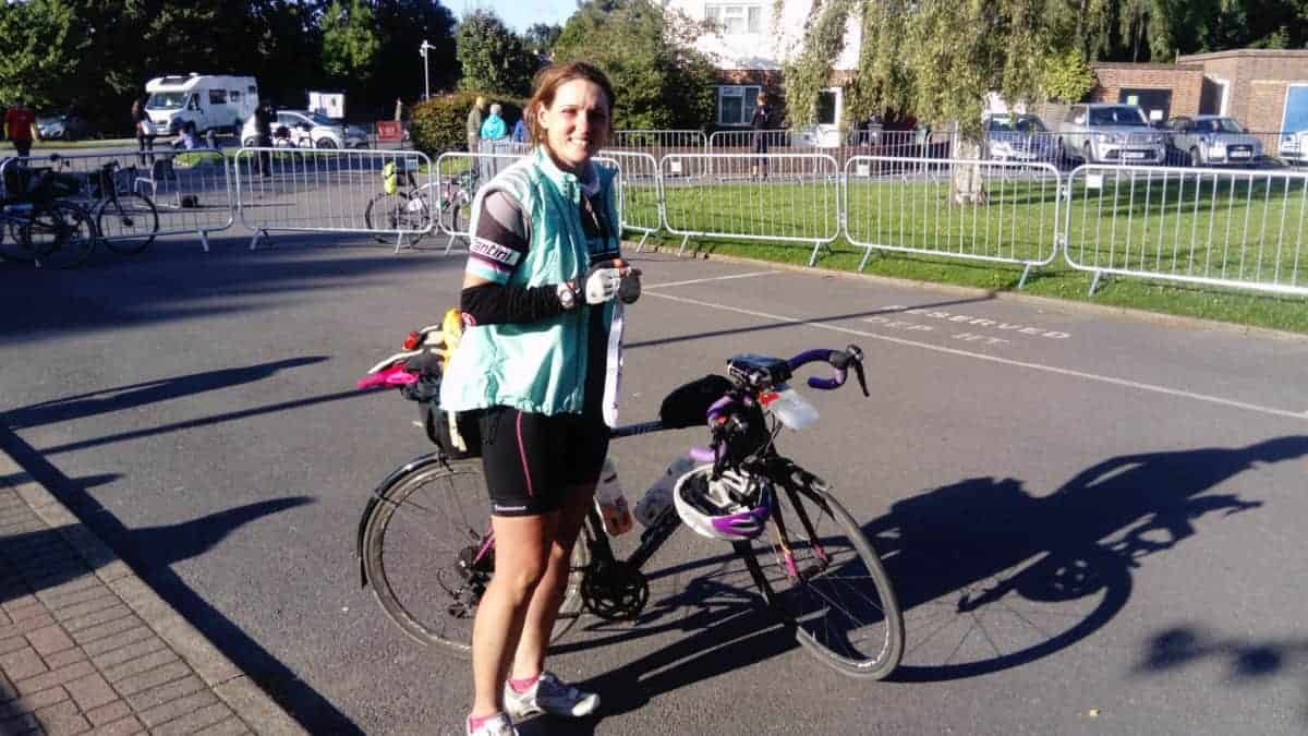 Inspiring Local Woman Cycles 900 Miles for Weston Hospicecare