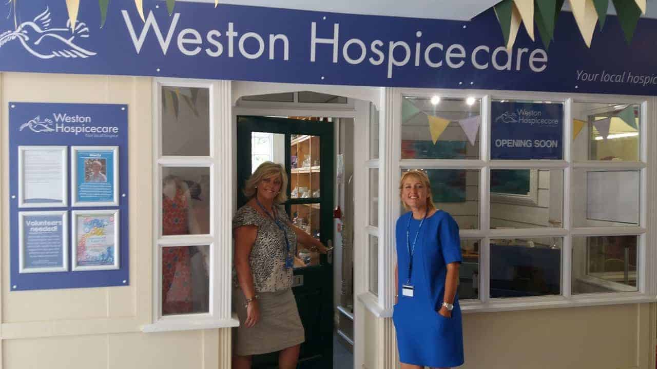 Weston Hospicecare opens new shop in Wedmore